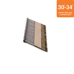 """Grip Fast 2"""" x .113 30-34° Smooth Shank Clipped Head Nail - 500 Pieces"""
