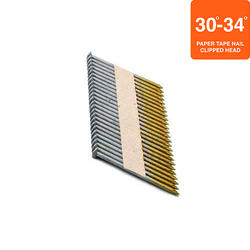 """Grip Fast 2-3/8"""" x .113 30-34° HDG Smooth Clipped Head Nail - 500 Pieces"""