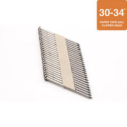 """Grip Fast 2-3/8"""" x .113 30-34° Ring Shank Stainless Steel Nail - 500 Pieces"""