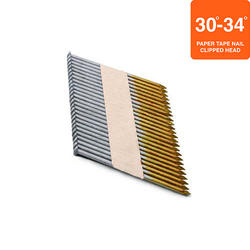 """Grip Fast 3-1/4"""" x .131 30-34° HDG Smooth Shank Nail - 500 Pieces"""