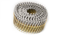 """Grip Fast 2-3/16"""" x .092 15° HDG Wire Collated Nail - 600 Pieces"""
