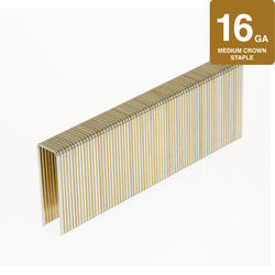 "Grip Fast 1/2"" Crown 1-1/2"" Leg Sheathing Staple - 10,000 Pieces"