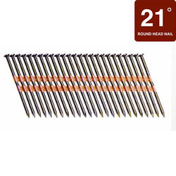"""Grip Fast 3-1/4"""" x .131 21° HDG Smooth Shank Nail - 2,000 Pieces"""