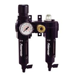 "Powermate® 3/8"" NPT Combo Filter/Regulator/Lubricator"