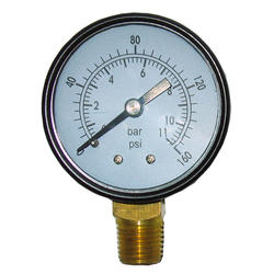 "Powermate® 2"" 160 PSI Pressure Gauge"