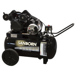 Sanborn 20-Gallon Horizontal Portable Air Compressor