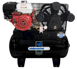 Industrial Air™ 30-Gallon Stationary Gas Air Compressor with Electric Start