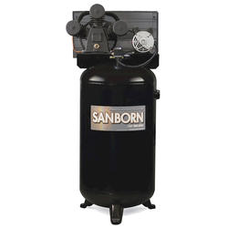 Sanborn 80-Gallon Vertical Stationary Air Compressor - Single Stage