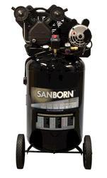Sanborn 30-Gallon Vertical Portable Air Compressor