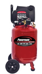 Powermate® 10-Gallon Wheeled Vertical Air Compressor