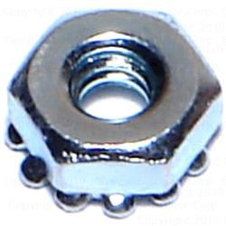 6-32 Free Spinning Kep Lock Nuts - 20 pcs/box