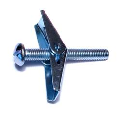 "1/4""-20 x 6"" Round Head Toggle Bolt - 50pcs/pkg"