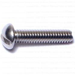 "8-32 x 3/4"" Slotted Round Machine Screws - 1 pcs."