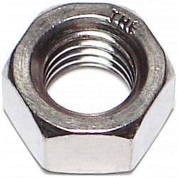 Grip Fast 1/2-13 Hex Nut Stainless Steel - 4 pcs/pkg