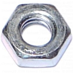"1/4""-20 Coarse Hex Jam Nuts - 2 pcs."