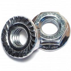 """5/16""""-18 Serrated Lock Nut - 2 pcs."""