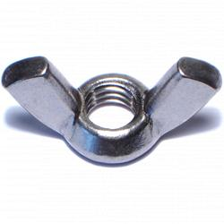 "3/8""-16 Cold Forged Wing Nuts - 3 pcs/box"