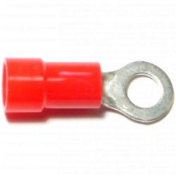 8 Gauge Insulated Ring Terminals - 20 pcs/box