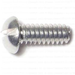 """10-24 x 1/2"""" Slotted Round Machine Screws - 34 pcs/box"""