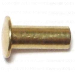 """1/8"""" x 5/16"""" Tubular Rivets - 60 pcs/box"""