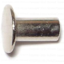 "3/16"" x 3/8"" Tubular Rivets - 48 pcs/box"