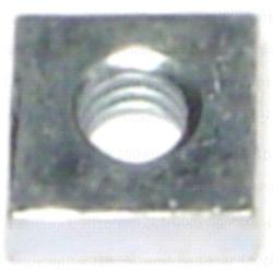 8-32 Square Nut - 4 pcs.