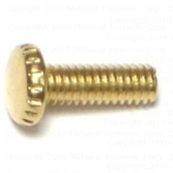 "8-32 x 1/2"" Knurled Head Screws - 20 pcs/box"