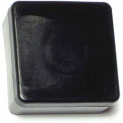 "1"" Outside Square End Caps - 4 pcs/box"
