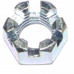 "5/8""-11 Coarse Slotted Hex Nuts - 4 pcs/box"