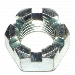 "1""-8 Coarse Slotted Hex Nuts - 3 pcs/box"