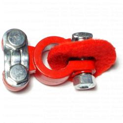 Top Post Battery Terminals - Coated Red4 pcs/box