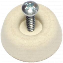 Large Round Bumpers with Screws - 8 pcs/box