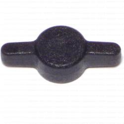 #10 Black Tee Thumb Screw Knobs - 5 pcs/box