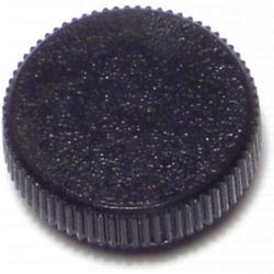 "1/4"" Black Round Thumb Screw Knobs - 5 pcs/box"