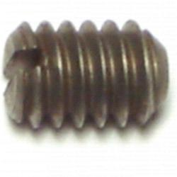 1/4-20 x 3/8 Slotted Headless Set Screws - 1 pack