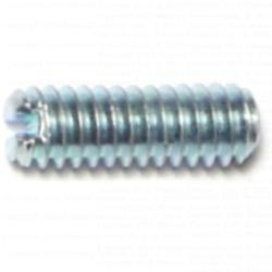 1/4-20 x 3/4 Slotted Headless Set Screws - 1 pack