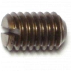 5/16-18 x 1/2 Slotted Headless Set Screws - 1 pack
