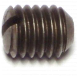 3/8-16 x 1/2 Slotted Headless Set Screws - 1 pack