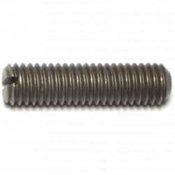 3/8-16 x 1-1/2 Slotted Headless Set Screws - 1 pack