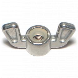 10-32 Wing Nut Nylon Insert - 1 pcs/box