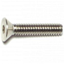 1/4-20 x 1-1/4 Flat Socket Cap Screws - Stainless - 1 pcs/box
