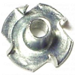 4mm-0.70 x 8mm T-Nuts - 10 pcs/box