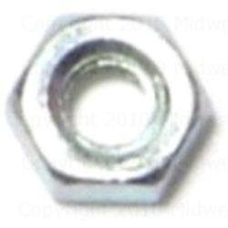 4mm-0.70 Metric Finished Hex Nuts - 3 pcs.