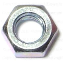 8mm-1.25 Metric Finished Hex Nuts - 2 pcs.