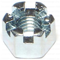 6mm-1.00 Metric Castle Nuts - 1 pack