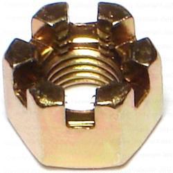 8mm-1.00 Metric Castle Nuts - 1 pack