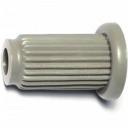 "1"" x 16 Gauge Round Tubing Caster Sockets - 4 pcs/box"