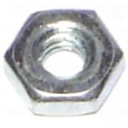 6-32 Hex Nut - 4 pcs.