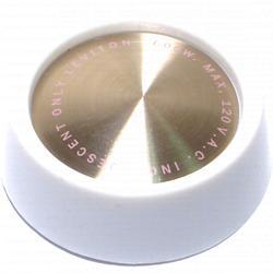 Rotary Click White Dim Knob - 6 pcs/box