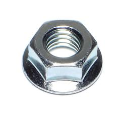 "3/8""-16 Flange Nuts - 100pcs/pkg"